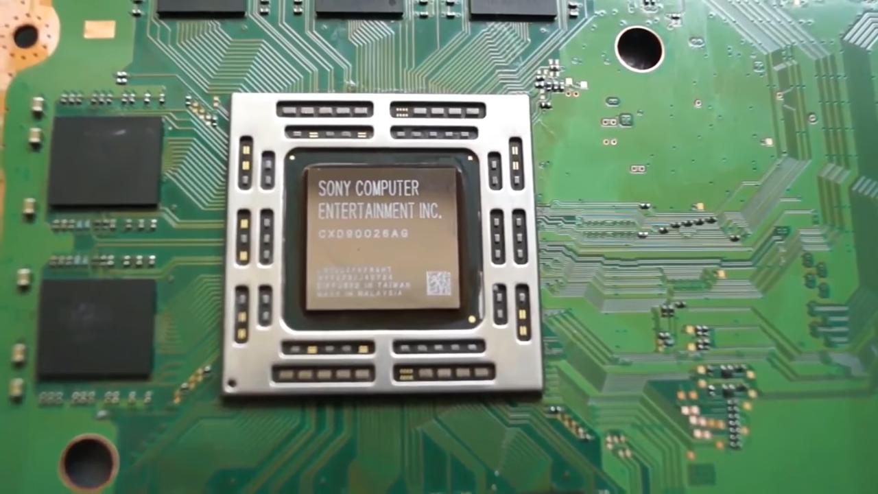 ps4 grafische chip reparatie