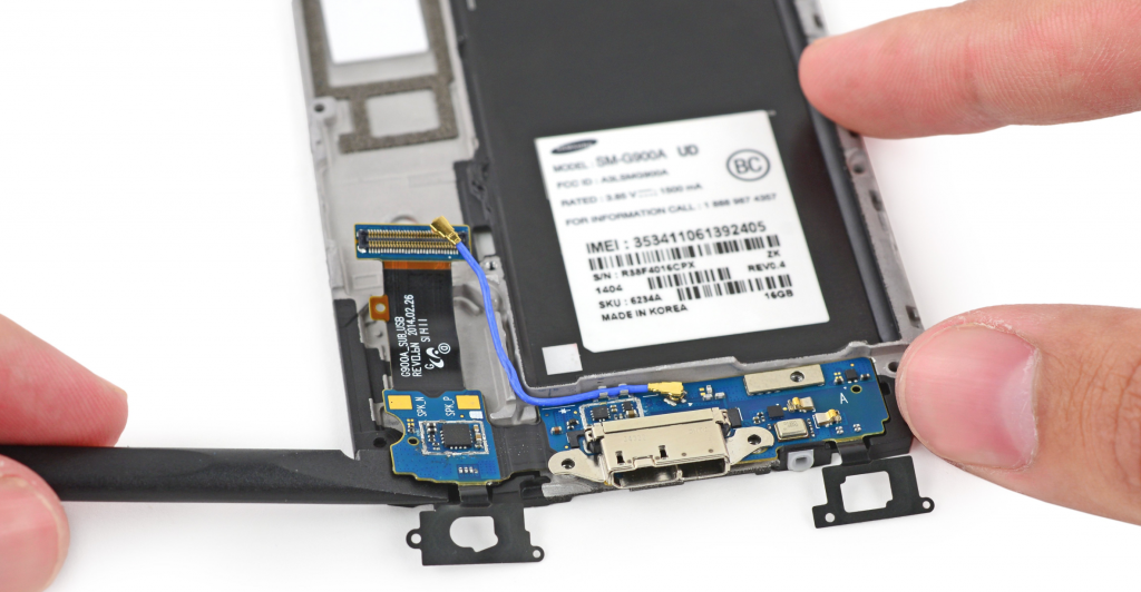 Samsung Dock connector reparatie