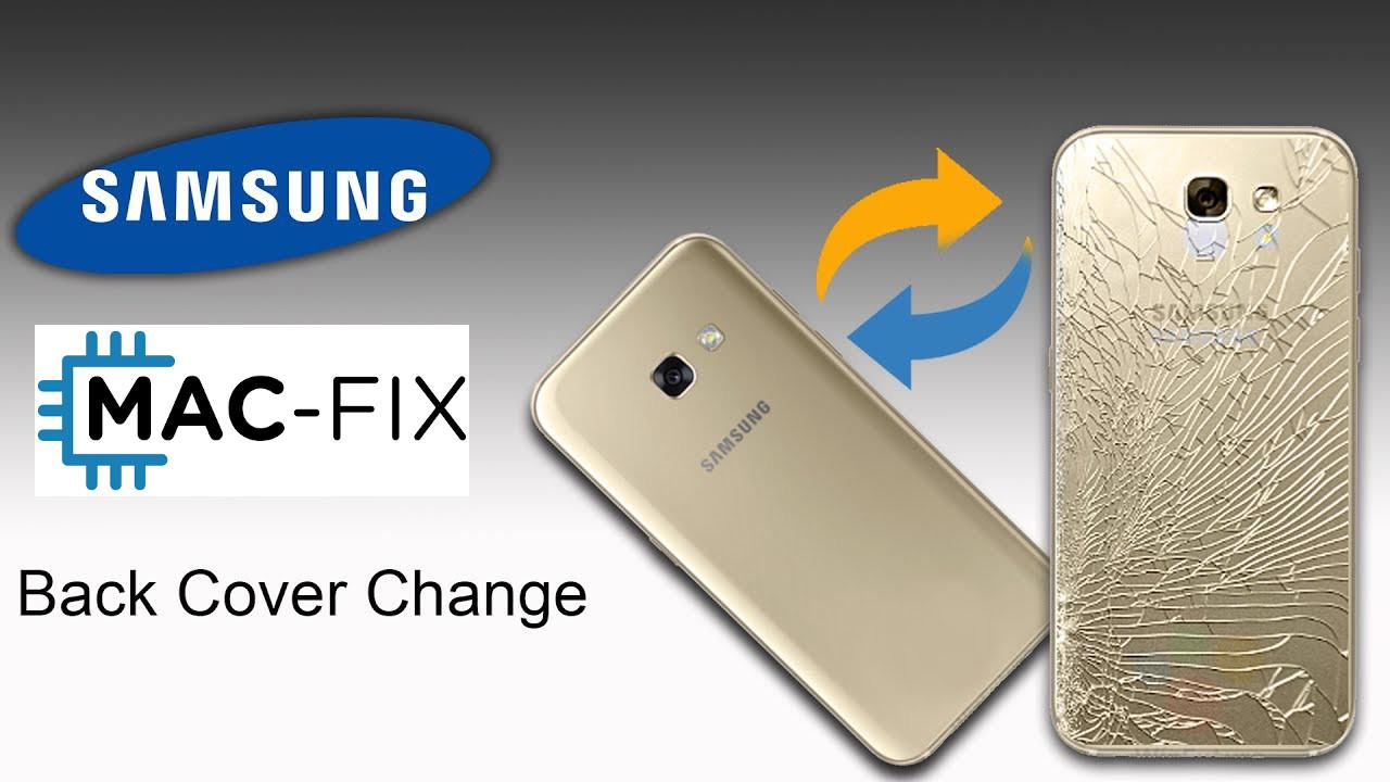 Samsung back cover vervangen