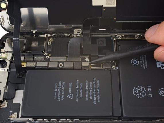 iPhone X reparatie batterij