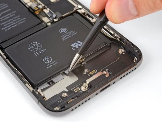 iPhone XS Max reparatie batterij