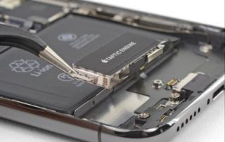 iPhone Xs max reparatie trilmotor