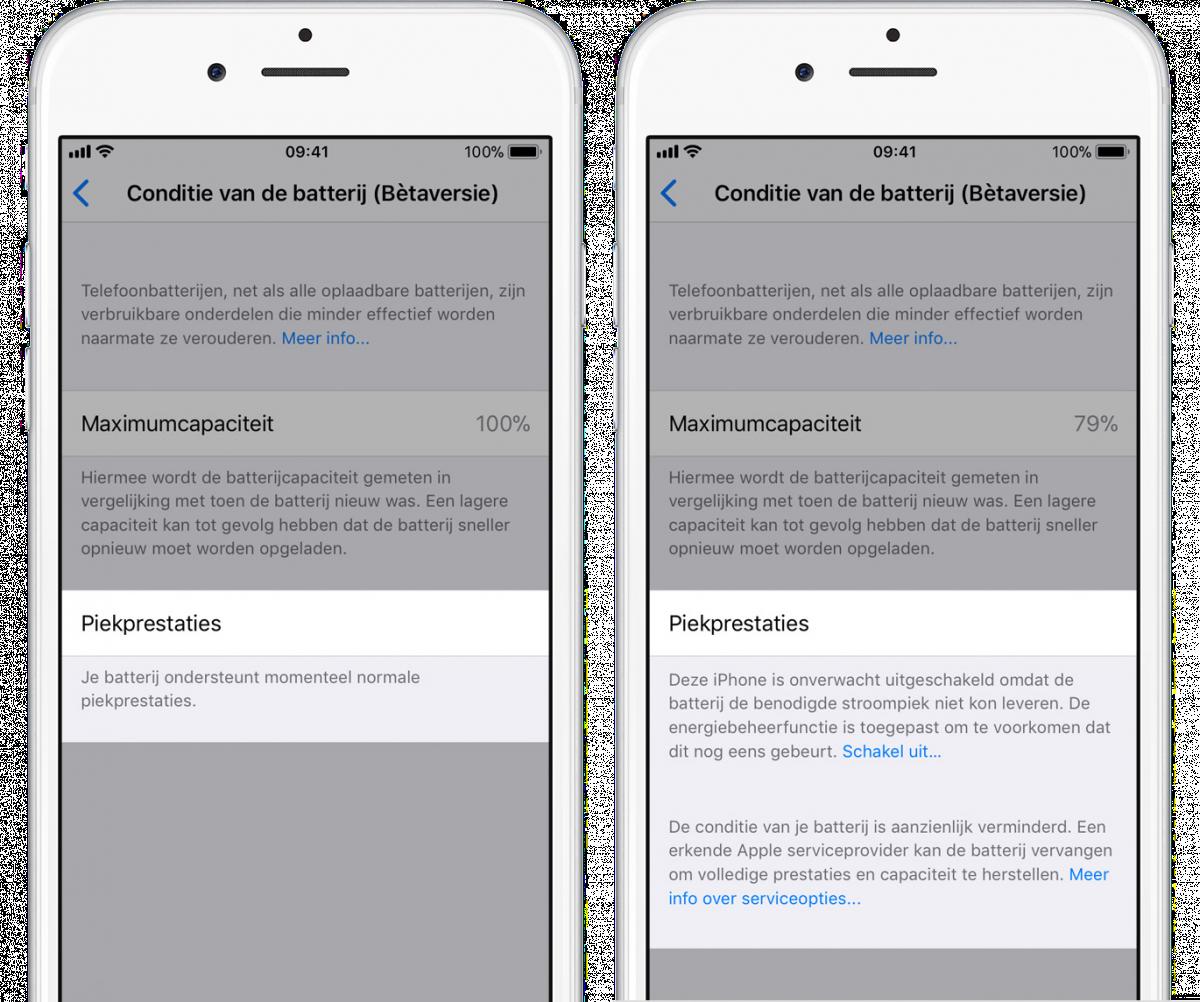 iPhone-conditie-batterij
