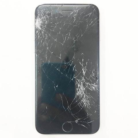 iPhone zwart beeld