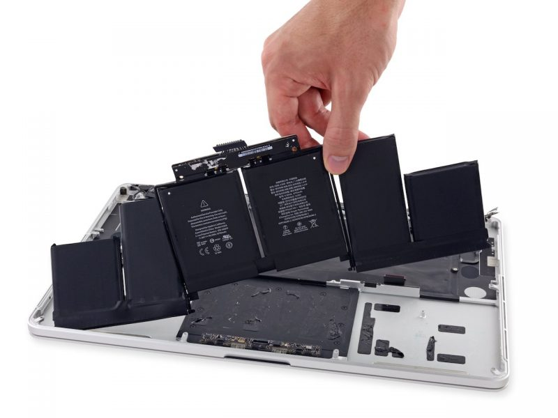 macbook pro batterij vervangen