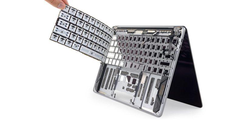 macbook toetsenbord vervangen
