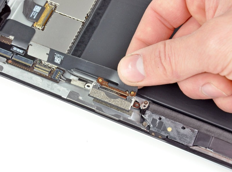 iPad dock connector reparatie